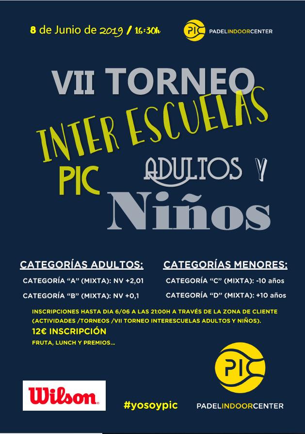 VII TORNEO INTERESCUELAS PIC
