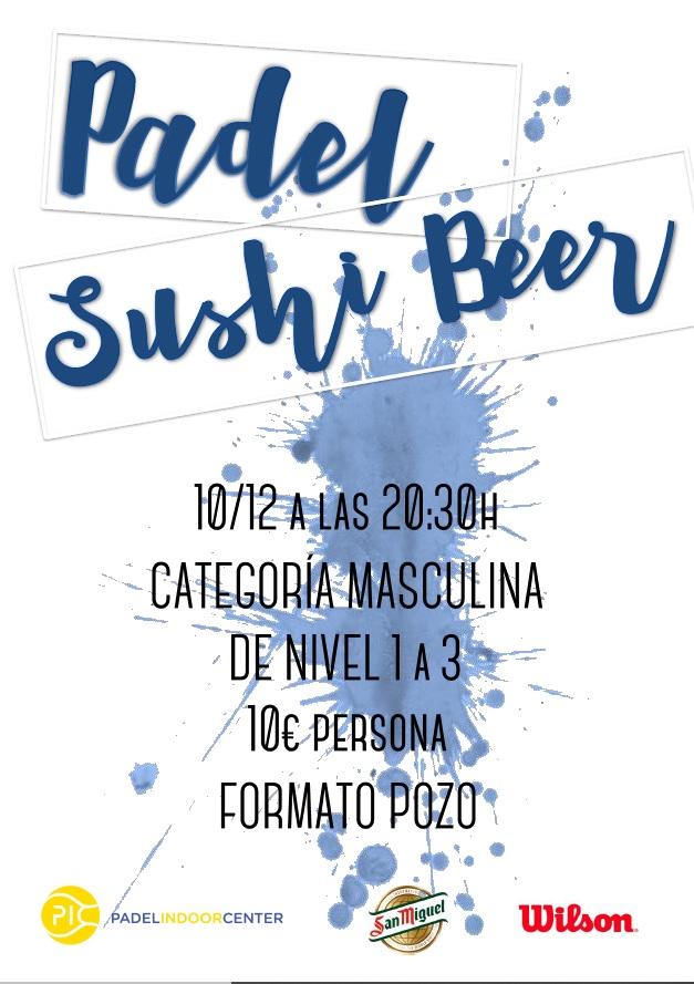 NUEVO PADEL SUSHI & BEER 10/12/19 MASCULINO