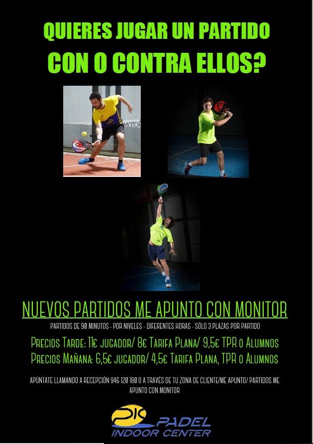 NUEVOS PARTIDOS CON MONITOR