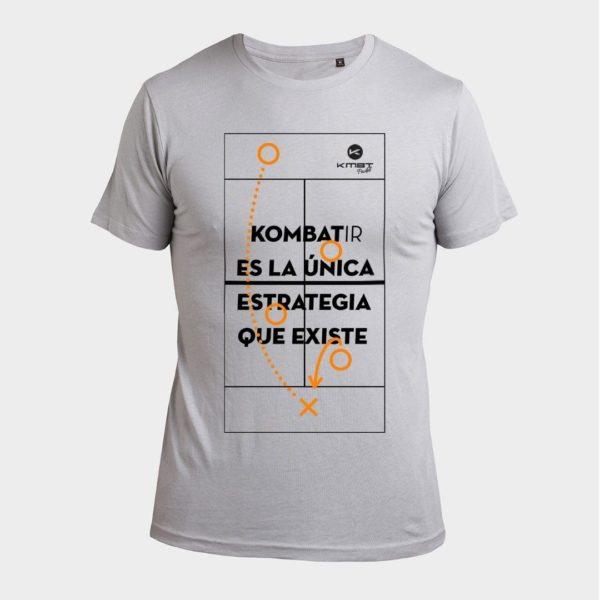 Camiseta Street Gris Kombat