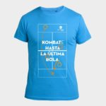 Camiseta Street Azul Kombat Padel Indoor Center