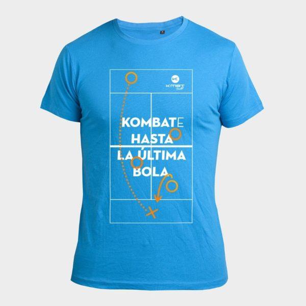 Camiseta Street Azul Kombat Padel Indoor Center