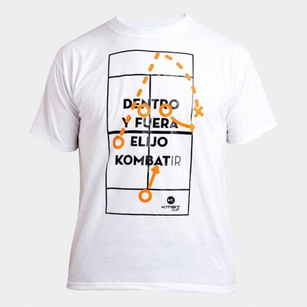 Camiseta Street Blanca Kombat